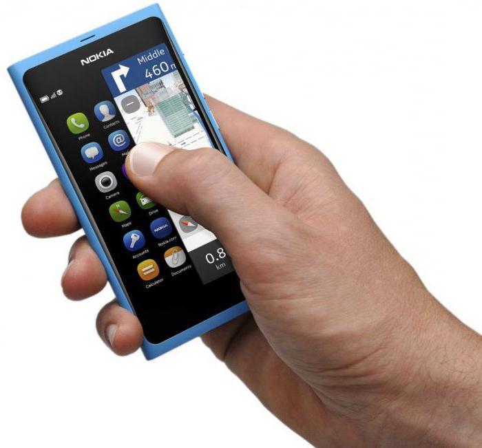 Nokia N9 charakteristika