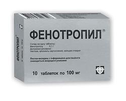 Istruzioni per l'uso di Phenotropil