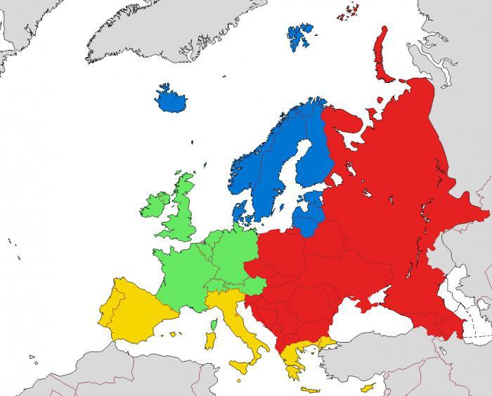 državah severne Evrope