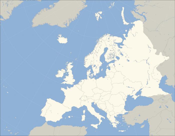 državah severne in vzhodne Evrope