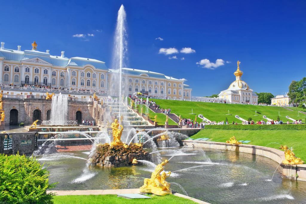 Fontane di Peterhof