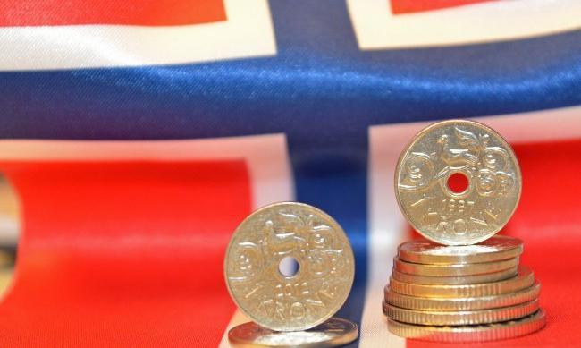 Norská koruna k rublu