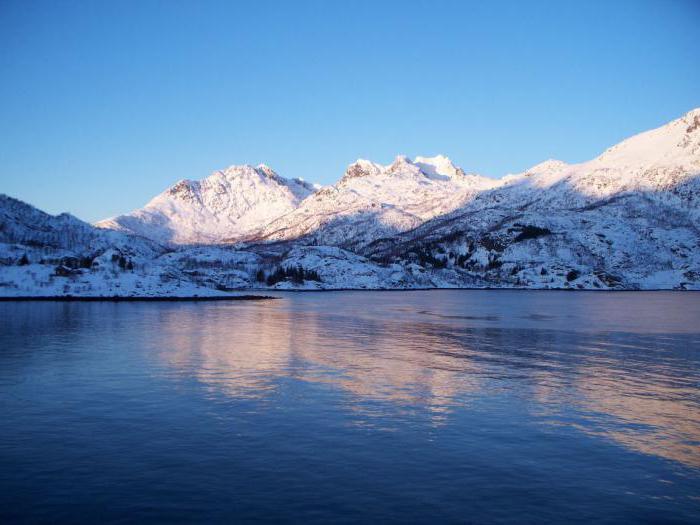 Mare norvegese che oceano