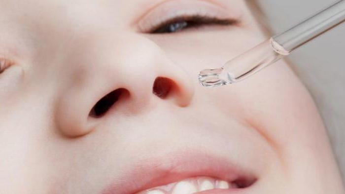 gocce di soluzione protargol al naso