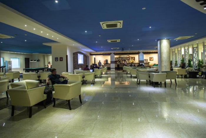 nubia aqua beach resort 5 hotelová infrastruktura