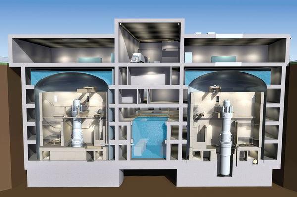 Dispositivo del reattore nucleare