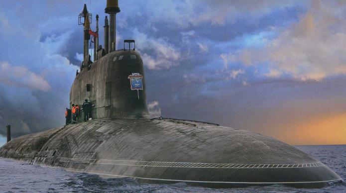 moderni sottomarini nucleari della Russia