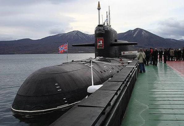 sottomarini nucleari della marina russa
