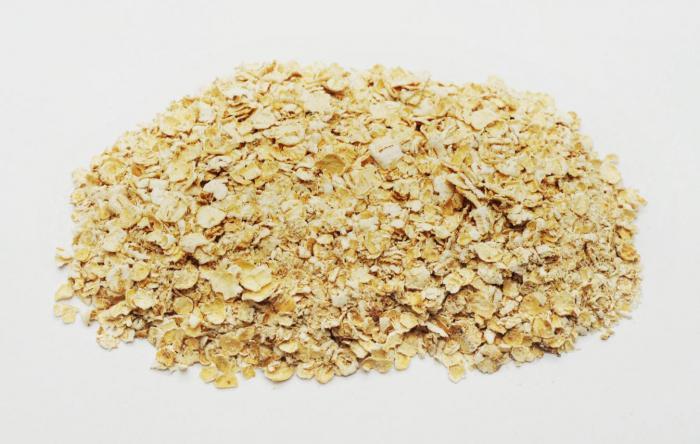 i benefici della farina d'avena per la colazione per l'intestino