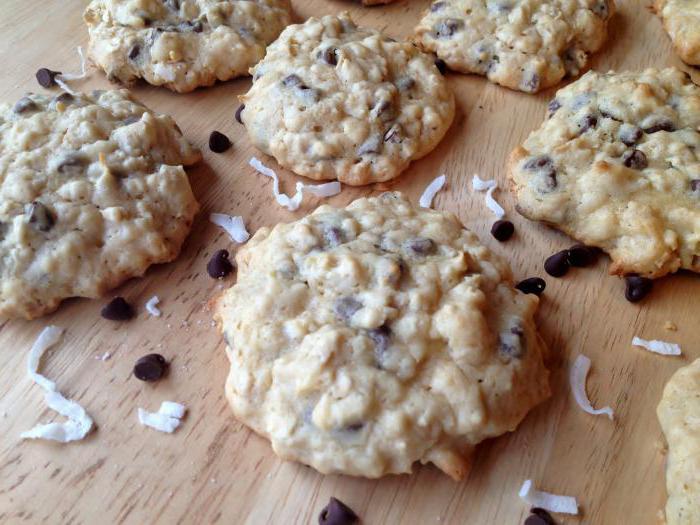 biscotti di farina d'avena su kefir ricetta fatta in casa