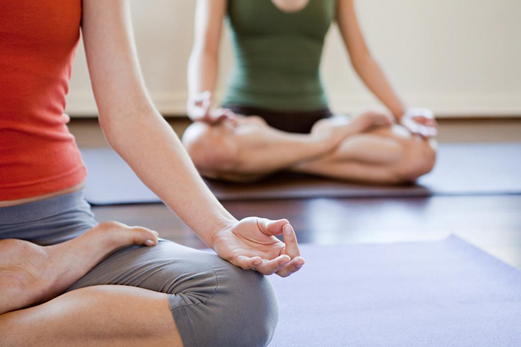 Mirno, yoga