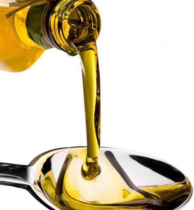 chlorofylliptový olej v krku