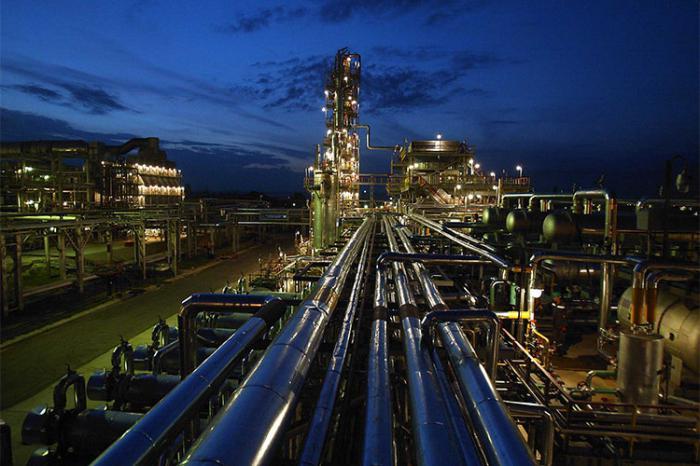 Снимка на руската петролна индустрия