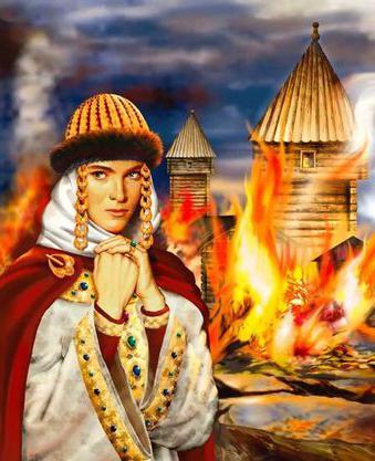Олга принцеса на Киев кратко биография