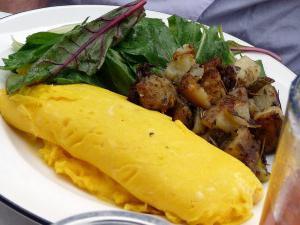 Omelette in una ricetta multivariata