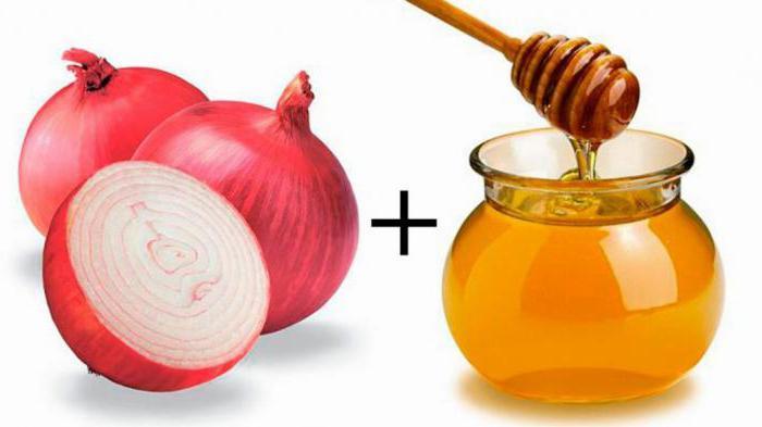 сок од лука са медом за кашаљ