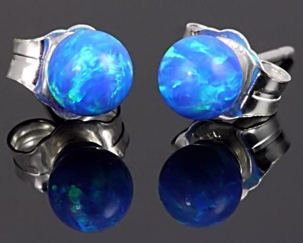 Opale blu