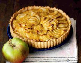 preprosta jabolčna pita