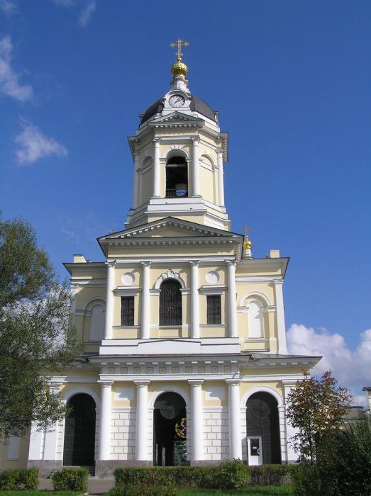 монастыри и храмы Подмосковья