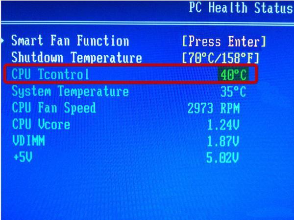 Monitoraggio della temperatura della CPU