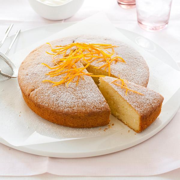 Oranžový dort