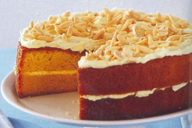 Ciasto pomarańczowe i migdałowe