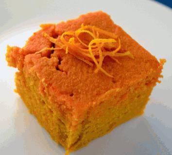 Torta con la scorza d'arancia