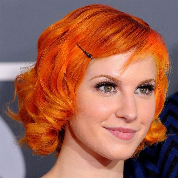 colore dei capelli arancioni