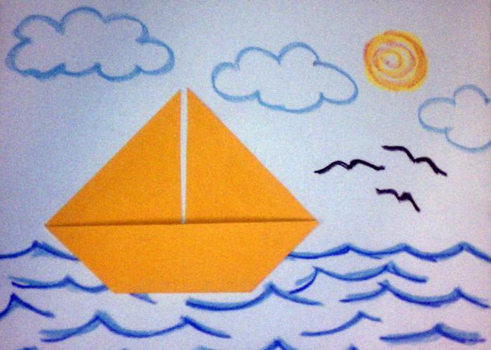 preprost origami za otroke 4 5 let