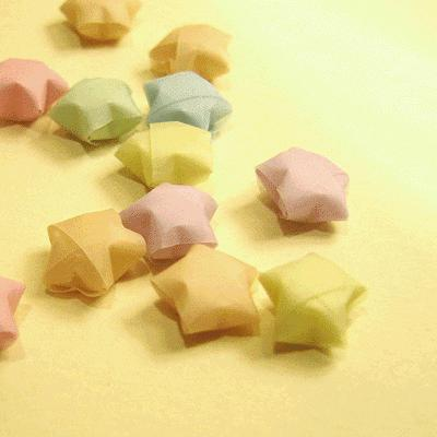 stella origami a cinque punte