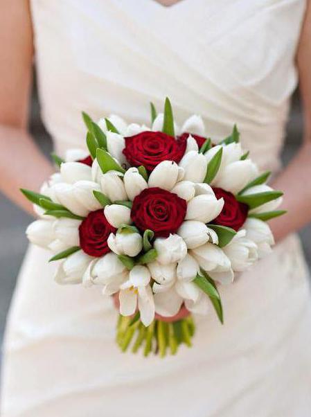 vrste vjenčanih buketa tulipana