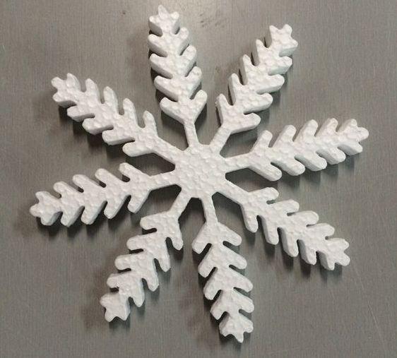 снежинка на коледната елха