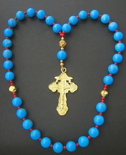 Rosari ortodossi con le proprie mani