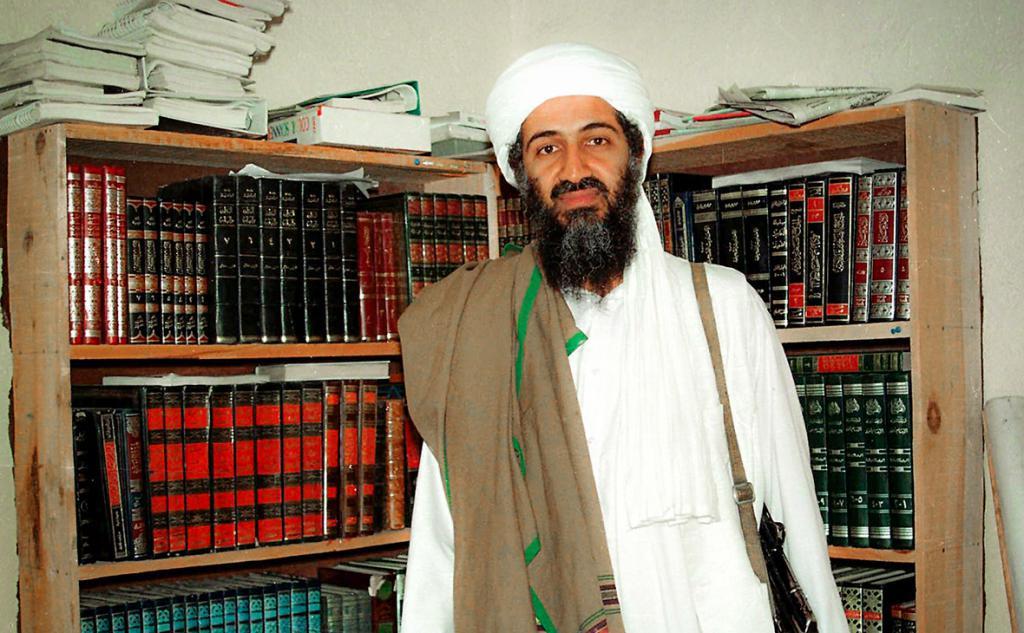 Снимка на Осама бин Ладен
