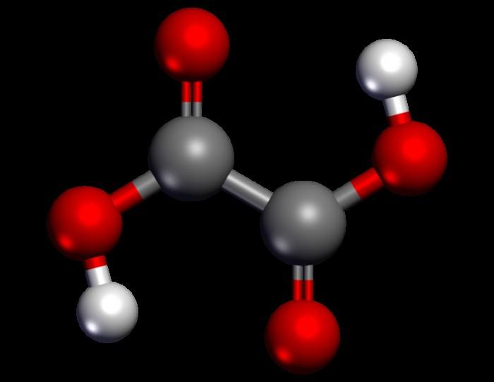 formula di acido ossalico