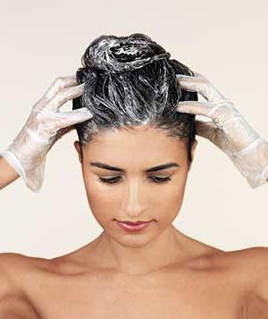 пяна за боядисване на коса
