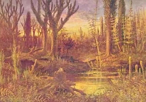 Tavola dell'era paleozoica