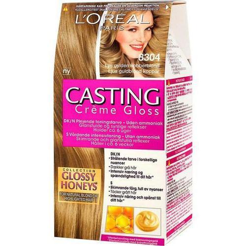 Crema di colata Loreal lucido gloss