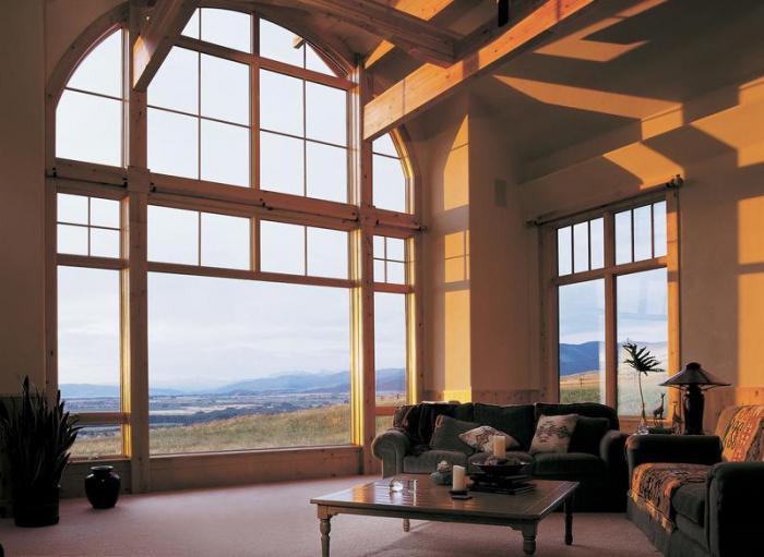 kuća s panoramskim prozorima