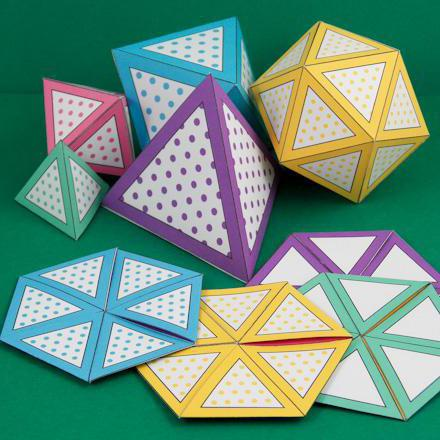 jak vyrobit flexakagon papíru