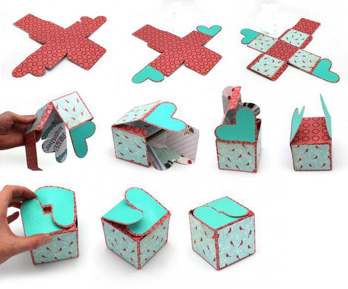 origami papir srca
