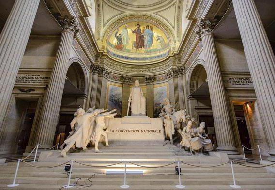 ki je pokopan v panteonu v Parizu