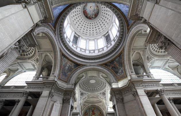 Cerkev Geneviève v Parizu Pantheon