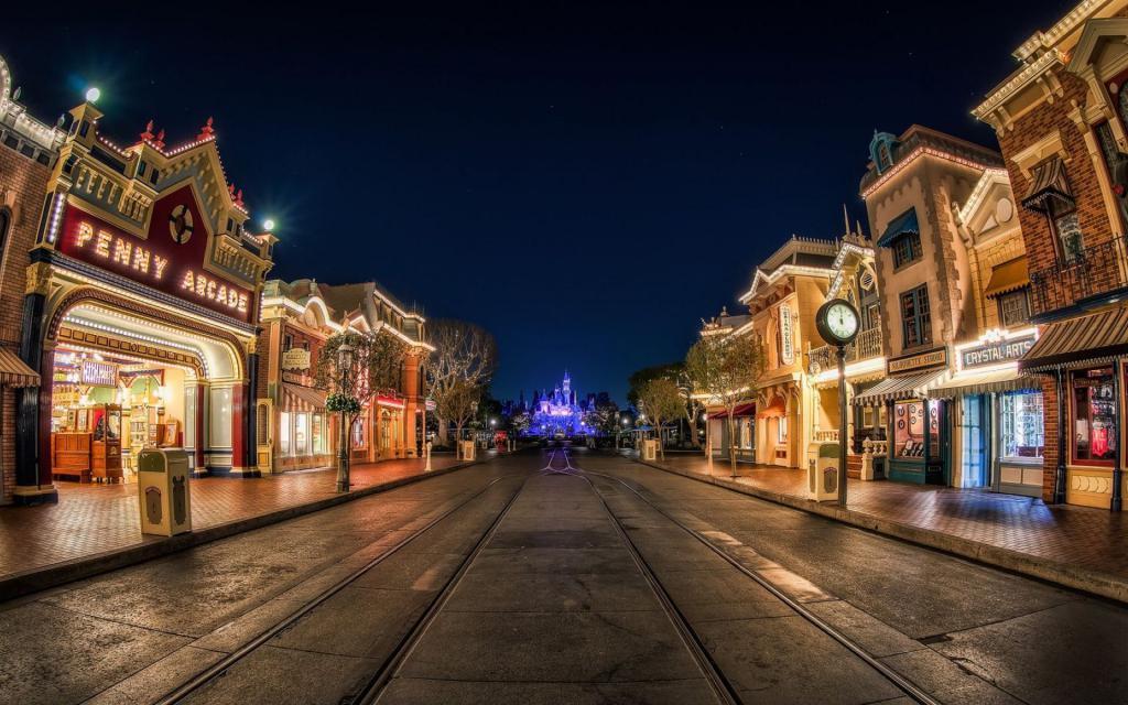 Centralna ulica Disneylandu