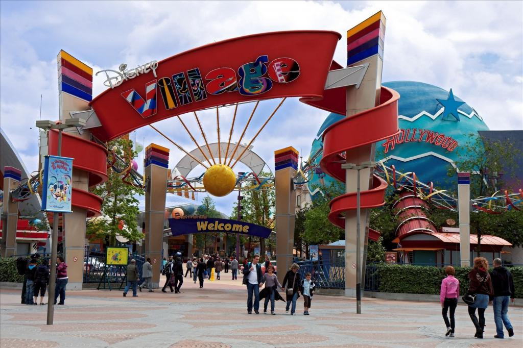Wejście do Disney Village