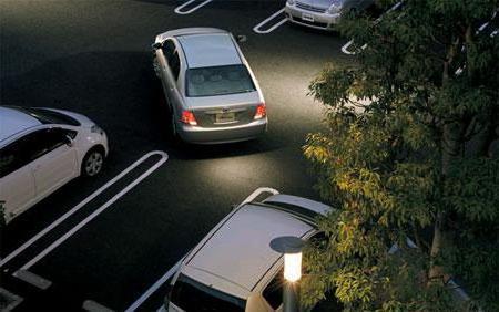 parkiranje u obrnutom smjeru