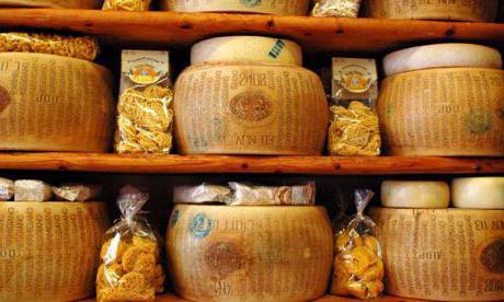 Foto di formaggio parmigiano