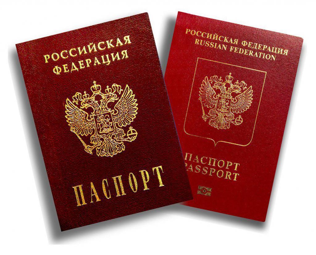 foto del passaporto russo