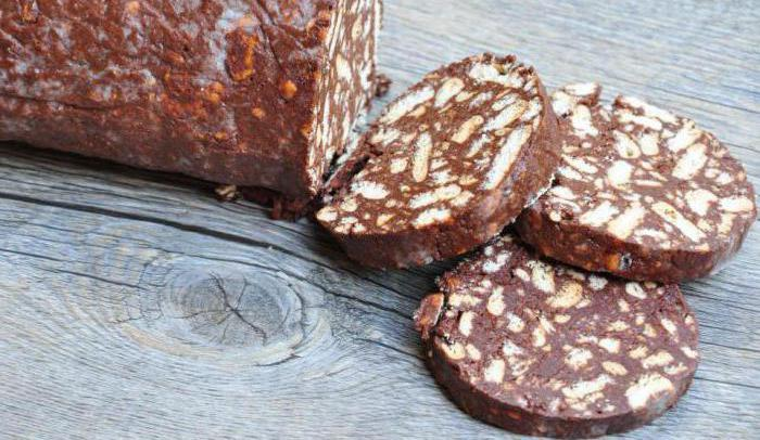 сладкарски колбас бисквити рецепта за гости