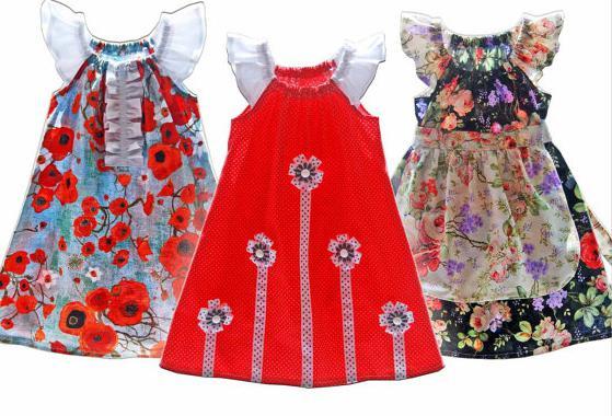modelli di vestiti per bambini per ragazze